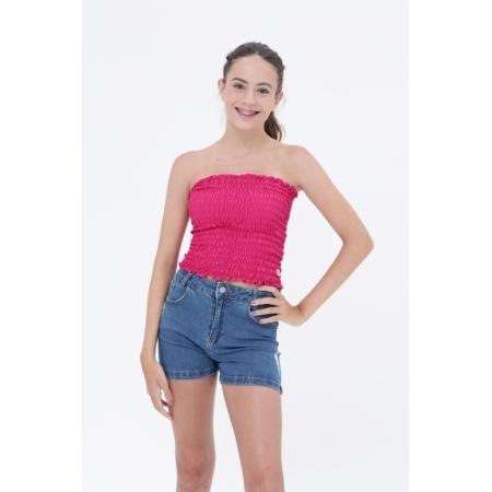 Blusa Lastex Pink