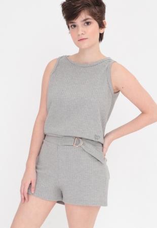 Blusa Take It Grey