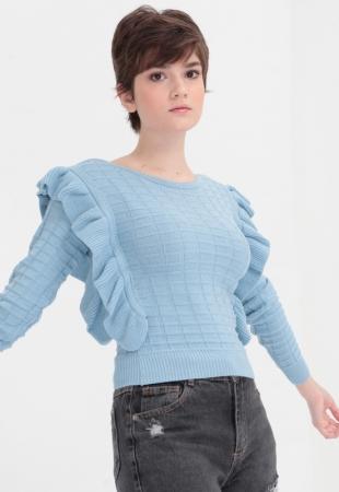 Blusa Tricot Squared