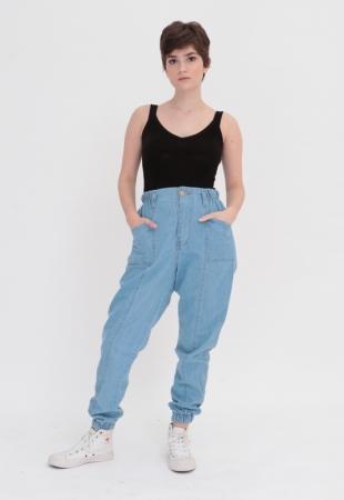 Calça Jeans Mom Jogger