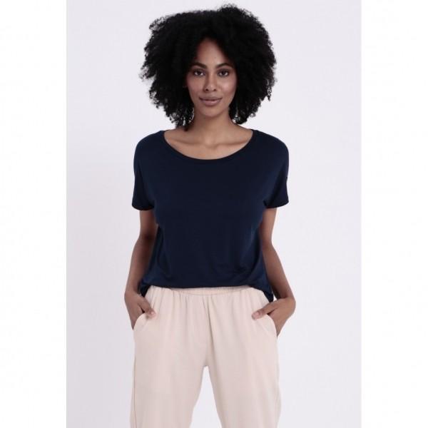 T-Shirt Louisiana Azul Marinho