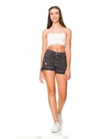 Short Jeans Cadence Cós Alto