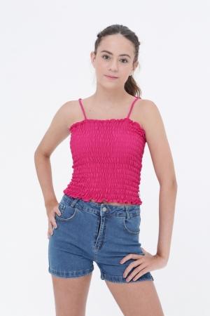 Short Jeans Mikayla Cós Alto