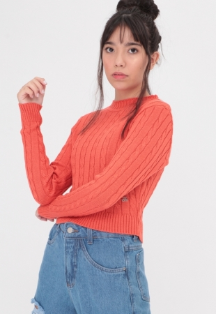 Tricot Cable Knit