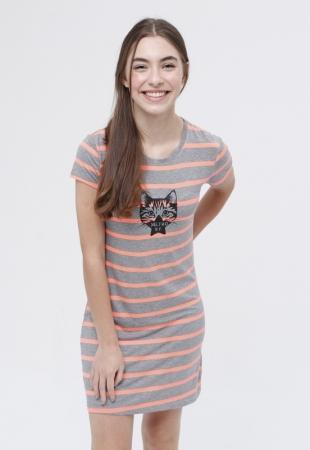 Vestido T-Shirt Cat