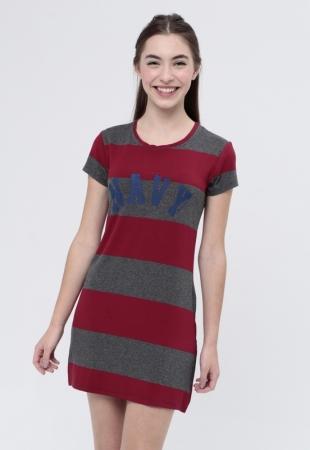 Vestido T-Shirt Navy