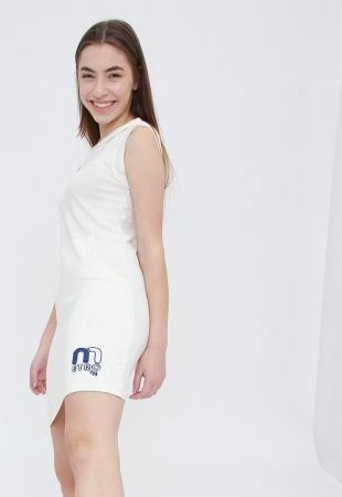 Vestido Tee Capuz