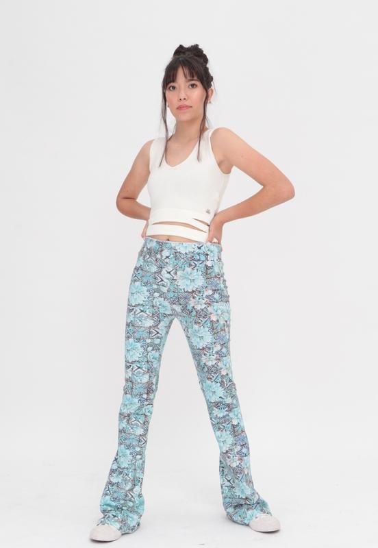 Bailarina Cotton Estampada  - Metro & Co.