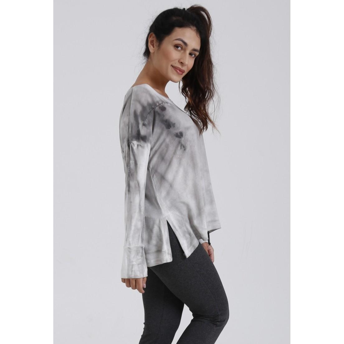 Blusa de Malha Tie Dye Bloomfield  - Metro & Co.