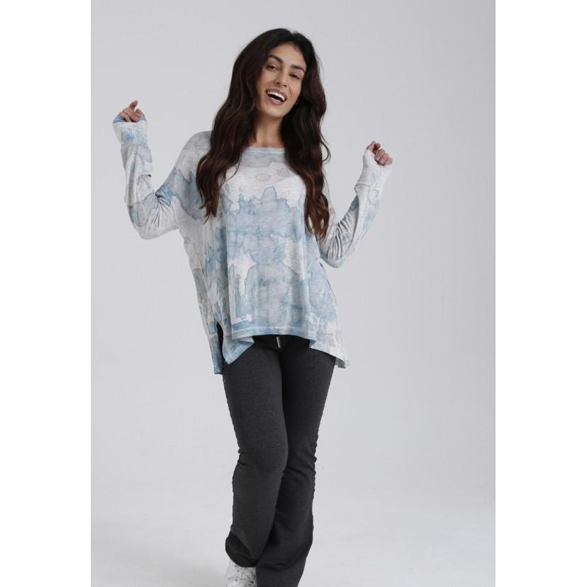 Blusa de Malha Tie Dye Magaw  - Metro & Co.