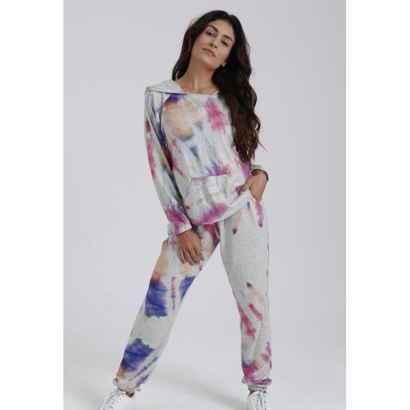 Blusa de Moletom Tie Dye Amora  - Metro & Co.