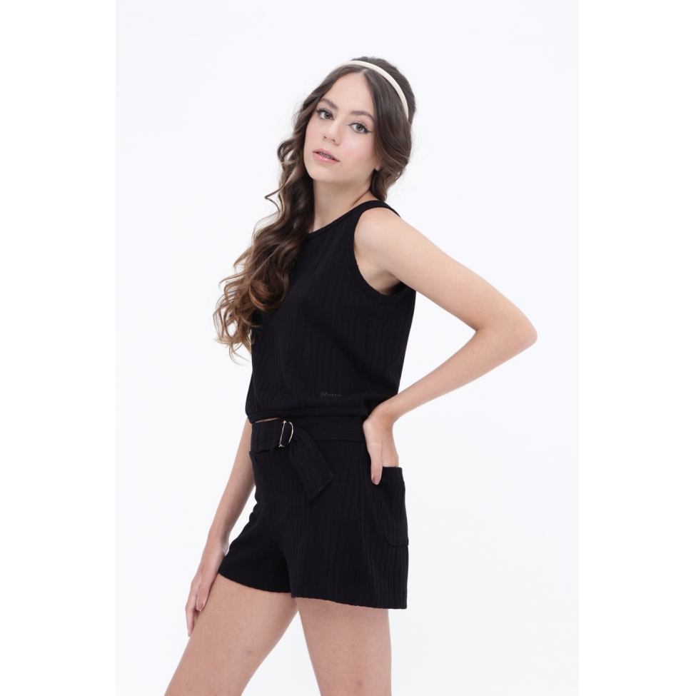 Blusa Take It Black  - Metro & Co.