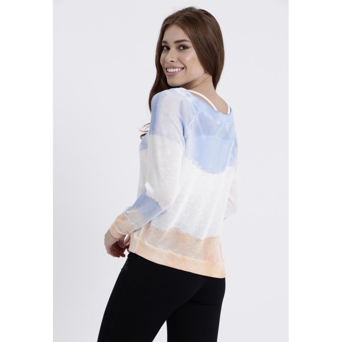 Blusa Tricot Tie Dye Goyah  - Metro & Co.