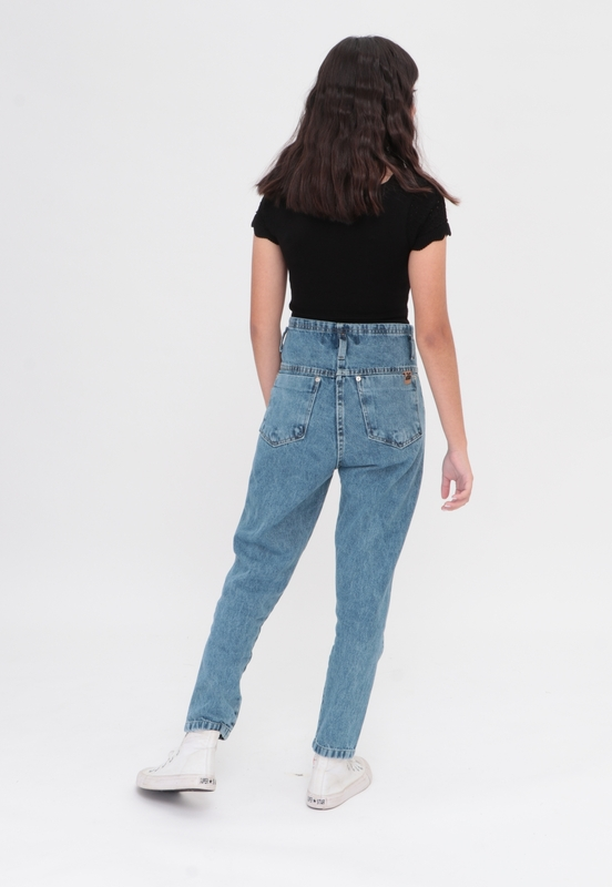 Calça Jeans Tailored High  - Metro & Co.