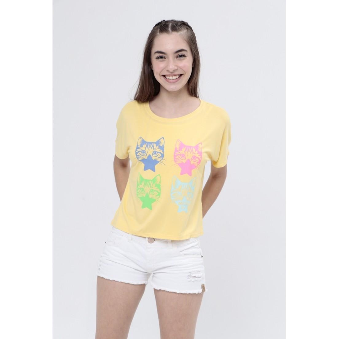 Camiseta Cats  - Metro & Co.