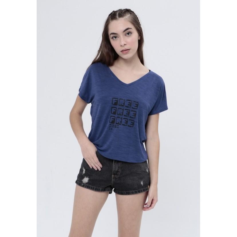 Camiseta Free  - Metro & Co.