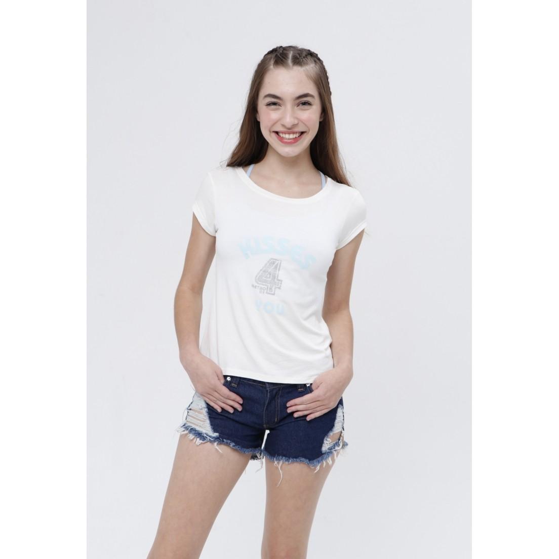 Camiseta Kisses4You  - Metro & Co.