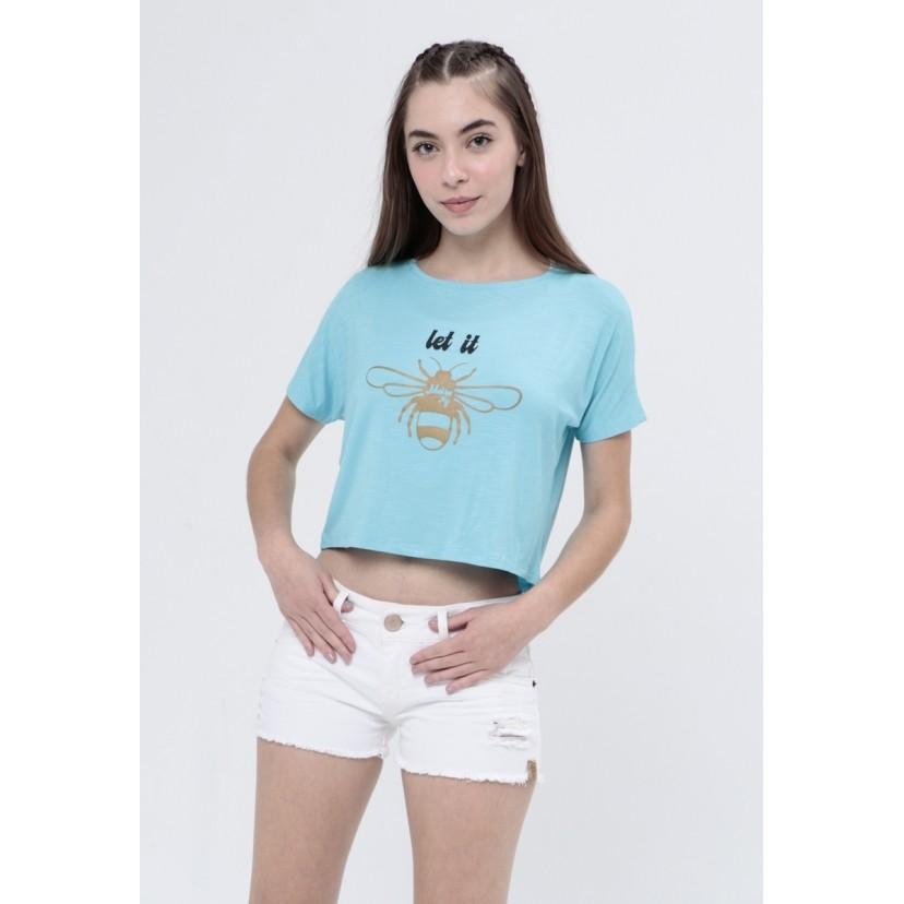 Camiseta Let it Bee  - Metro & Co.