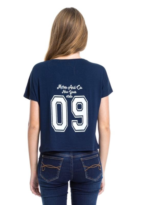 Camiseta Nine Back  - Metro & Co.