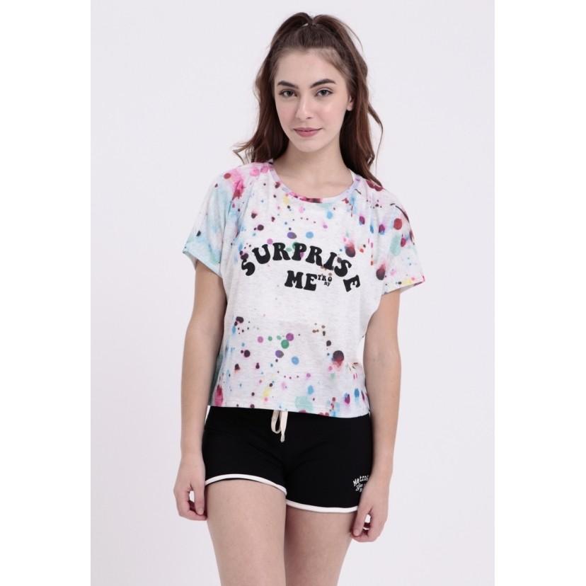 Camiseta Painted Surprise Me  - Metro & Co.