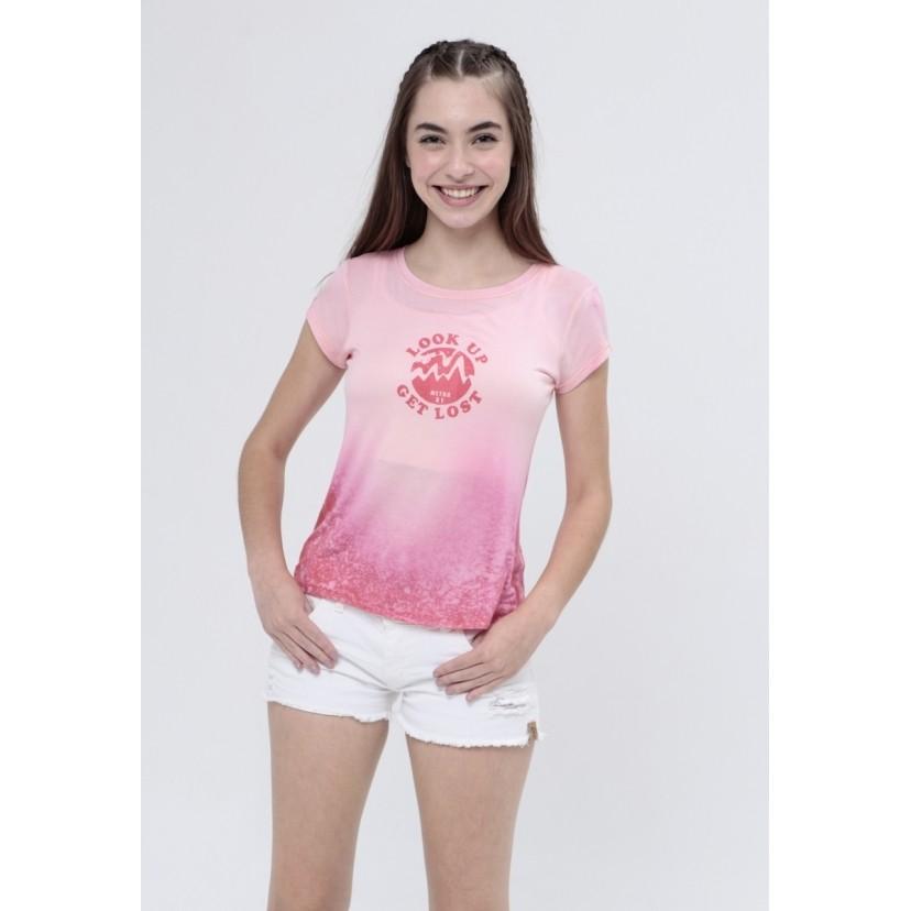 Camiseta Tie Dye Look Up  - Metro & Co.