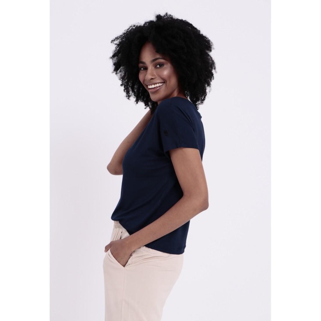 T-Shirt Louisiana Azul Marinho  - Metro & Co.