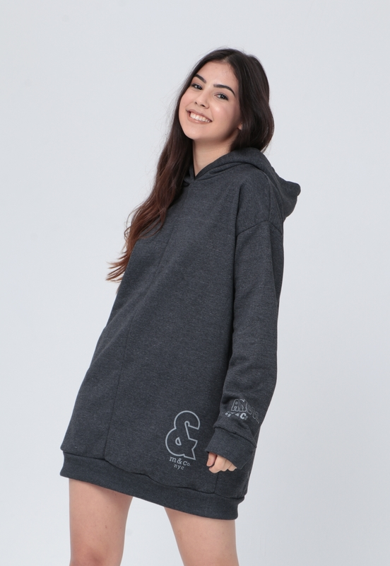 Hoodie Forrado And  - Metro & Co.