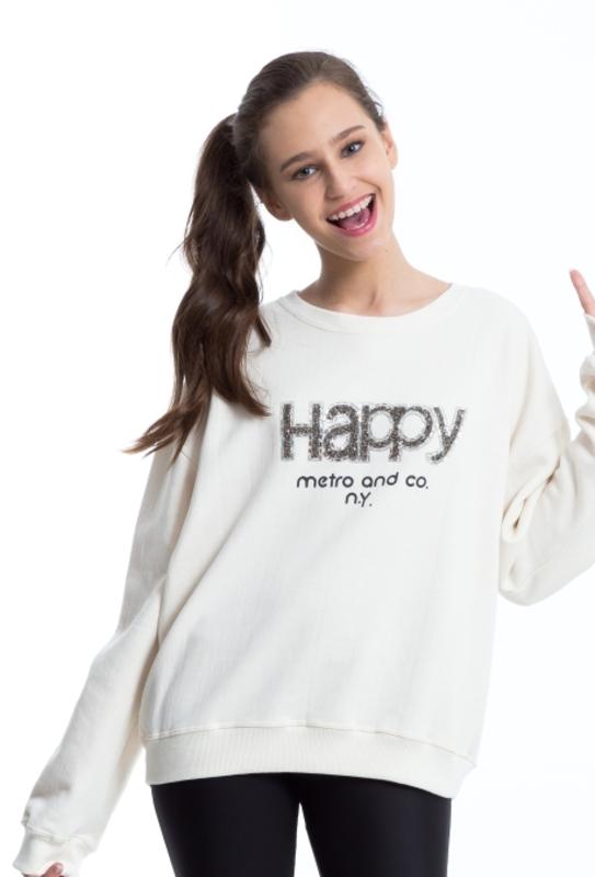 Moletom Happy  - Metro & Co.