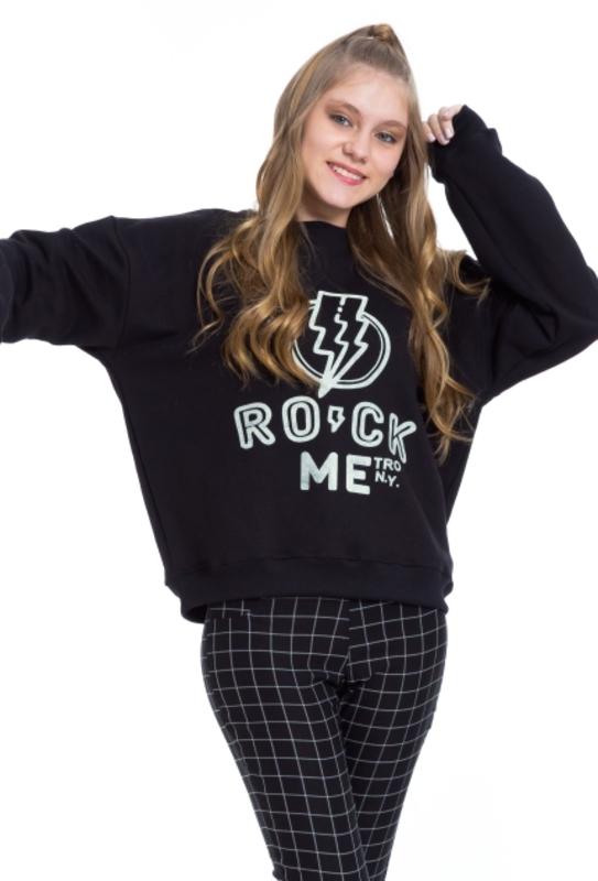 Moletom Rock  - Metro & Co.