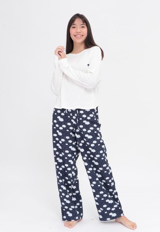 Pijama Blue Clouds  - Metro & Co.