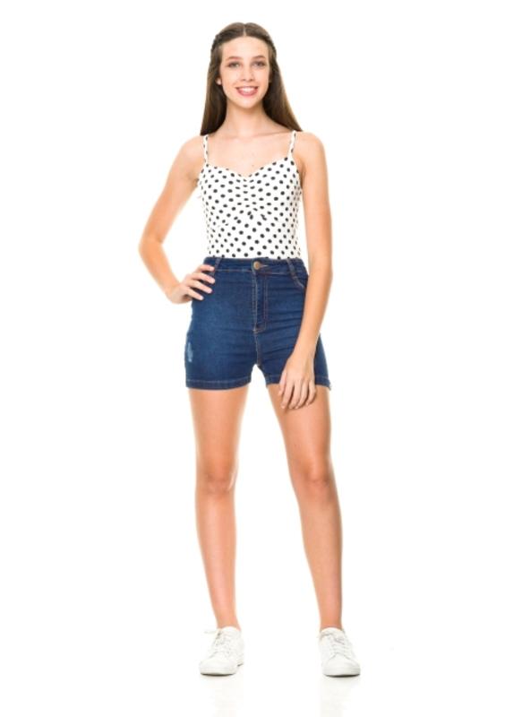 Short Jeans Addison Cós Alto  - Metro & Co.