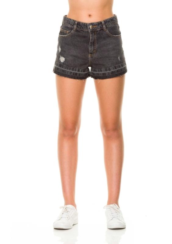 Short Jeans Cadence Cós Alto  - Metro & Co.