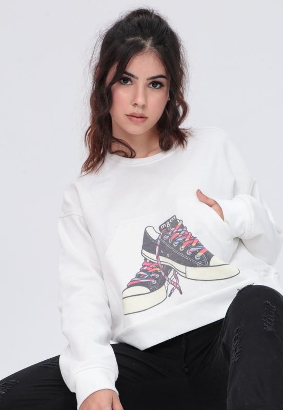 Sweat Moletom Sneaker  - Metro & Co.