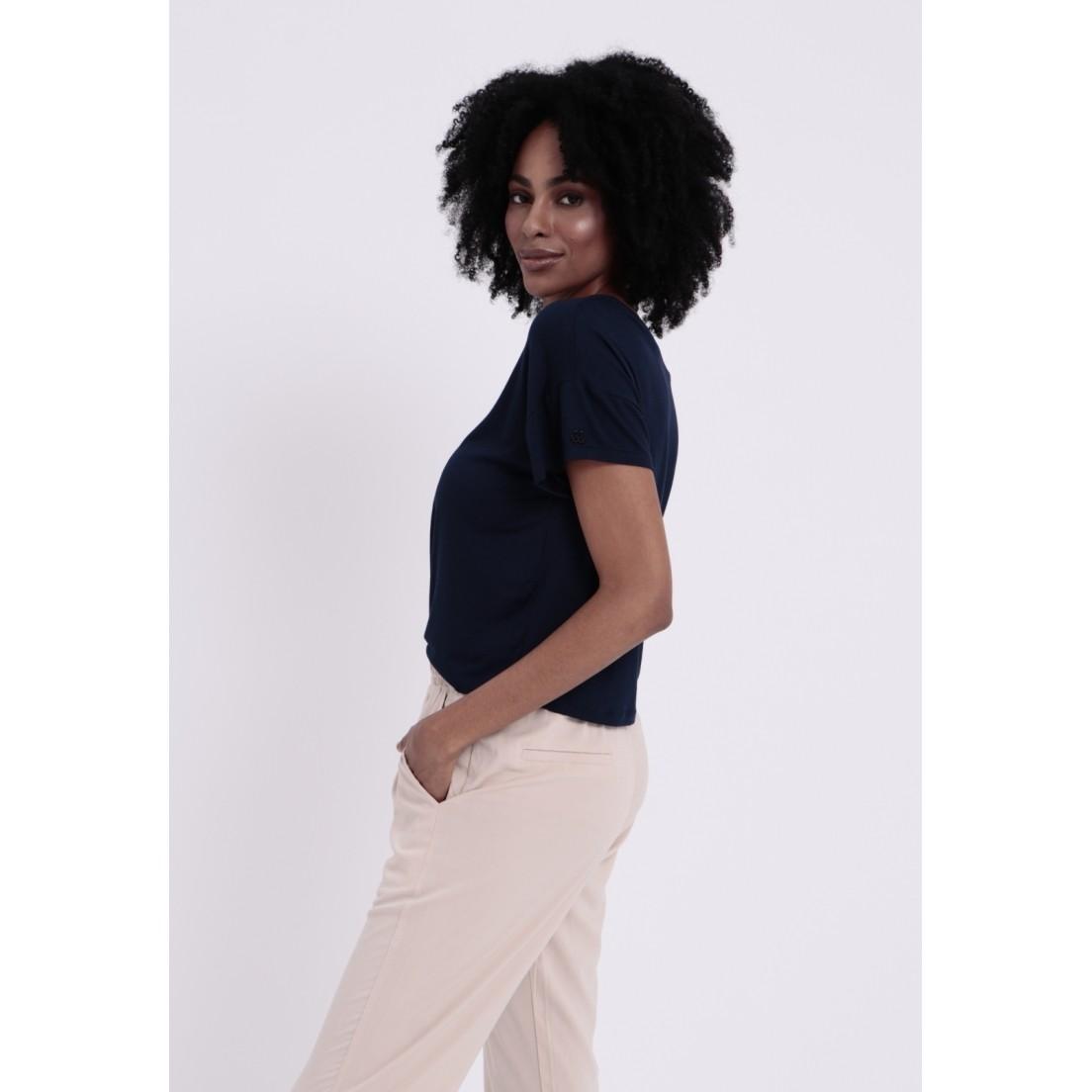 T-Shirt Alabama Azul Marinho  - Metro & Co.