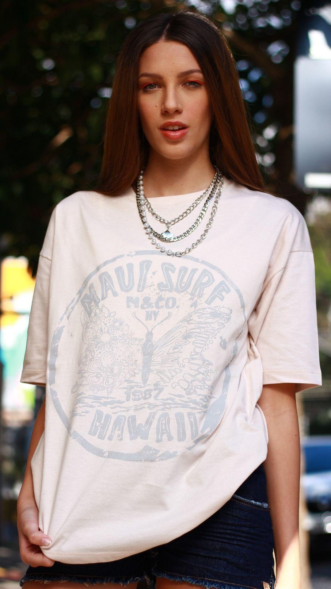 T-Shirt Camisetão Maui  - Metro & Co.