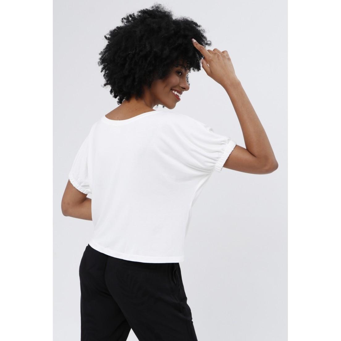 T-Shirt Tribeca Off White  - Metro & Co.