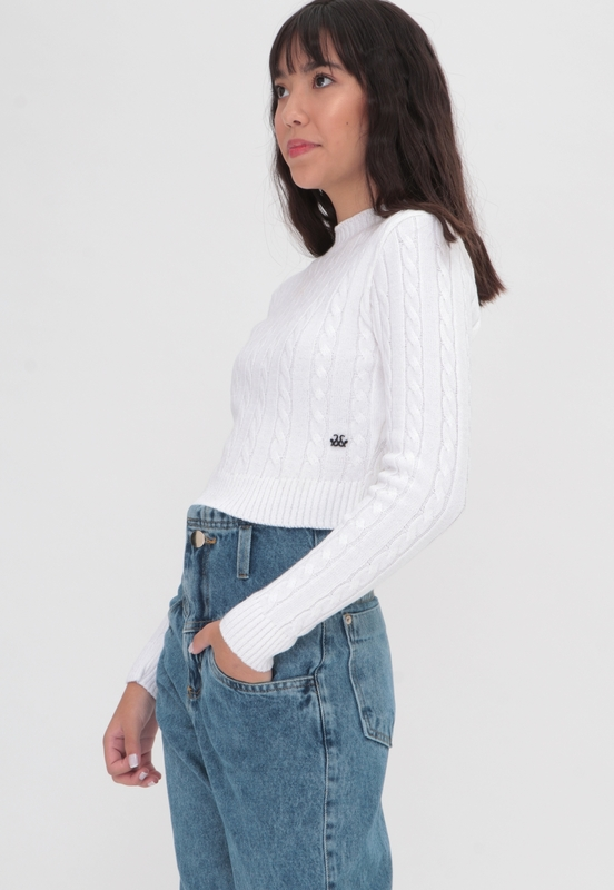 Tricot Cable Knit  - Metro & Co.