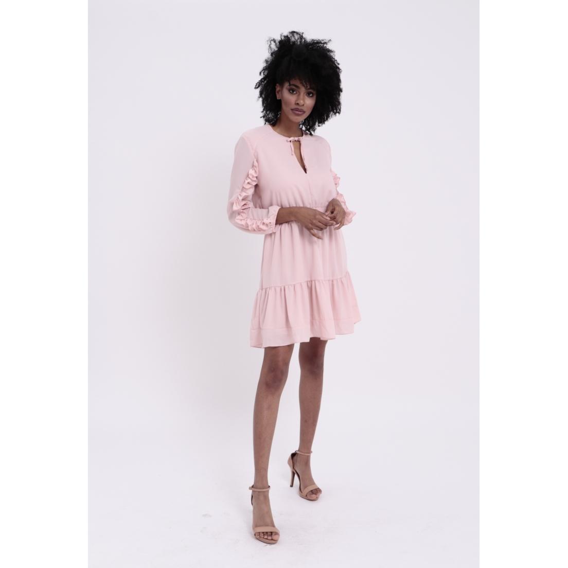 Vestido Lanchester Rosa  - Metro & Co.