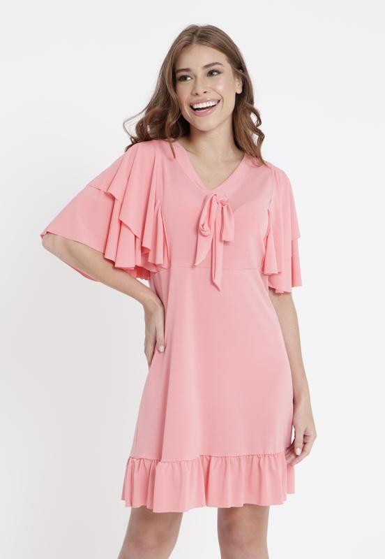 Vestido Sevilha Rosa  - Metro & Co.