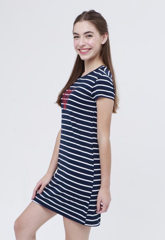 Vestido T-Shirt Cat  - Metro & Co.