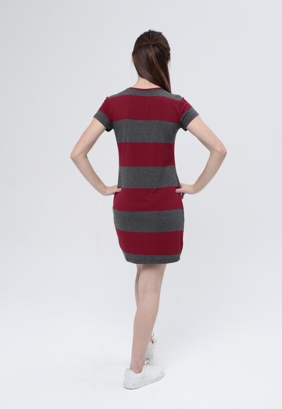 Vestido T-Shirt Navy  - Metro & Co.