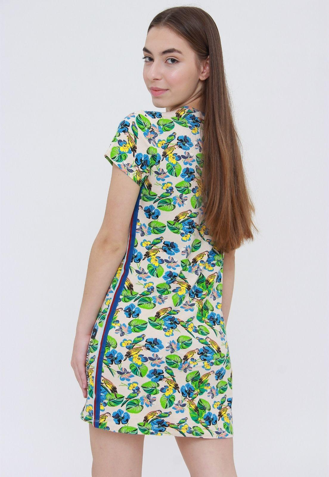 Vestido Tee Estampado  - Metro & Co.