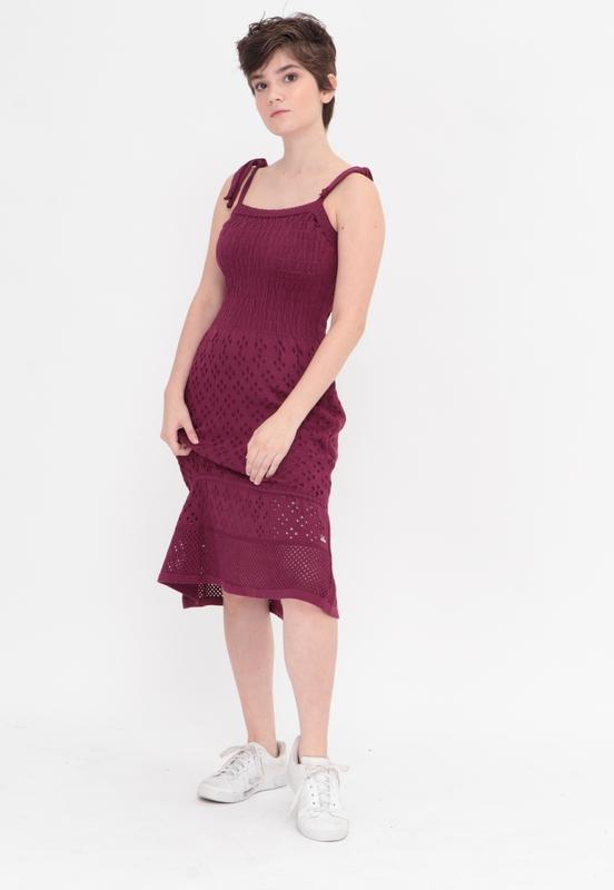 Vestido Tricot Uva  - Metro & Co.