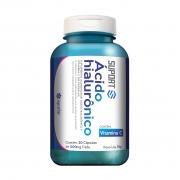 Ácido Hialurônico + Vitamina C - 30 Cápsulas.