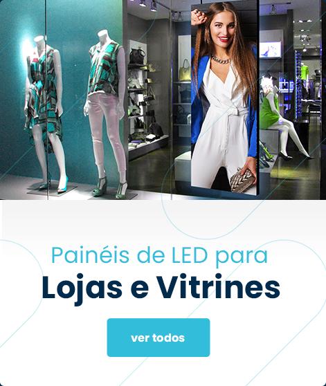 Painel de LED para Lojas e Vitrines
