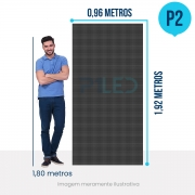 Painel de LED para Lojas e Comércios 0,96 x 1,92 - Telão P2.9 Indoor