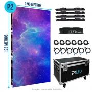 Painel de LED para Padaria 0,96 x 1,92 - Telão P2.9 Indoor