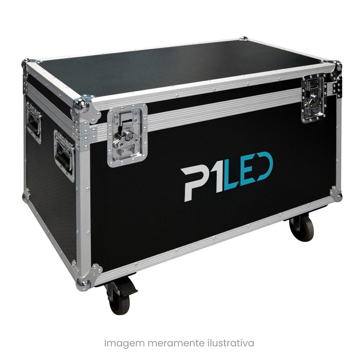 Painel de LED para Lojas e Comércios 2,56 x 1,28 - Telão P2.5 Indoor  - Painel e Telão de LED - O Melhor Preço em Painel de LED | P1LED