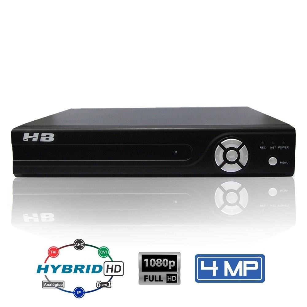 Gravador de Vídeo 4 canais HB-6304
