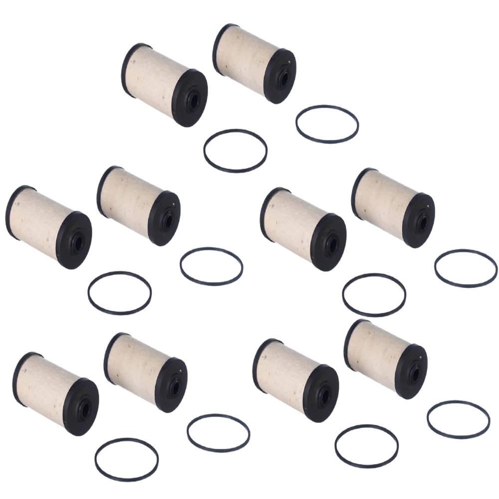 10 Filtros Combustível Bomba Bosch 1/2 Meio Litro FC161 TECFIL
